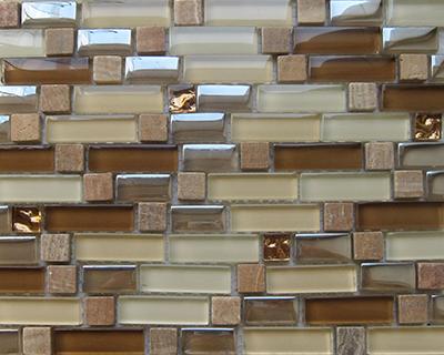 <strong>Mosaico de vidrio serie Diamond</strong> <h6>código LADS21</h6>