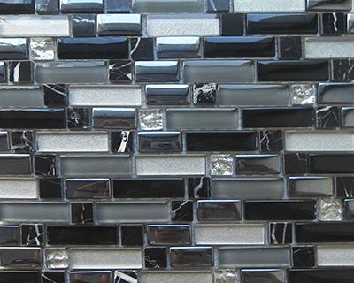 <strong>Mosaico de vidrio serie Diamond</strong> <h6>código LADS22</h6>