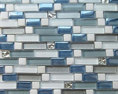 <strong>Mosaico de vidrio serie Diamond</strong> <h6>código LADS23</h6>
