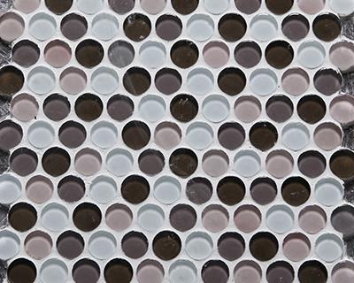 <strong>Mosaico de vidrio serie Lunares</strong> <h6>código LAWQ002</h6>